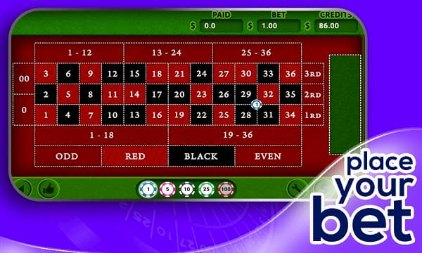 Roulette Games online
