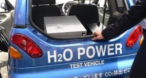 water powered car