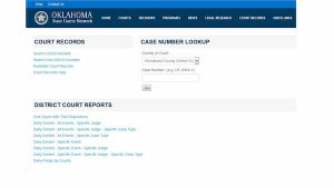 Oklahoma District Court Records