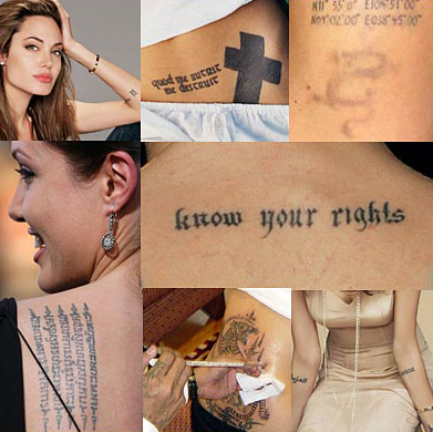 Celebrity Tattoos – Know The Secrets Of Celebrity Tattoos Designs