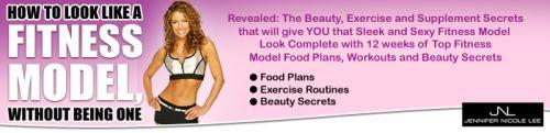 fitness model and celebrity beauty secrets