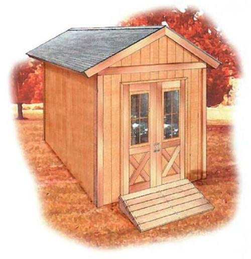 Storage Shed Plans designs