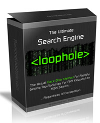 Ultimate Search Engine Loophole Review – Why To Crack MSN Search Engine Code?