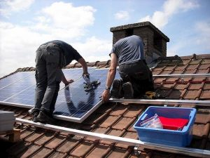 diy solar panel for house setup