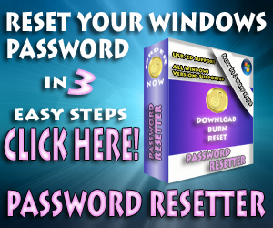 Reset Your Password – Password Reset Software
