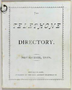 reverse telephone directory