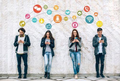 social media wave