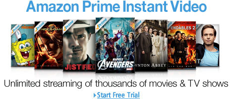 Amazon Instant Video - rent buy watch full DVD movies legal