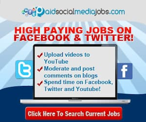 Paid Social Media Jobs to make money online for beginners