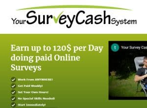 Your Survey Cash System