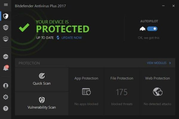 bitdefender av screenshot