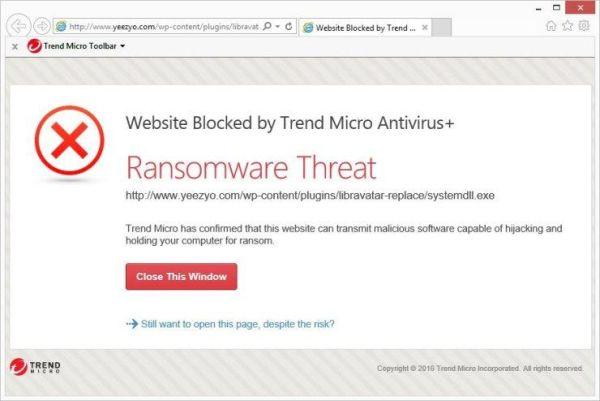 trend micro antivirus ransomware protection